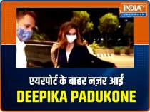 Deepika Padukone was caught on camera at the airport, watch the video