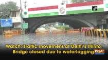 Heavy rain causes water-logging in Delhi