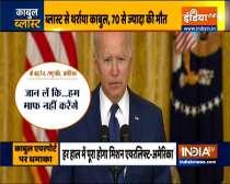Joe Biden warns Kabul airport attackers, says
