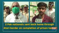 2 Pak nationals sent back home through Atari border on completion of prison terms
