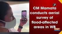 CM Mamata conducts aerial survey of flood-affected areas in WB