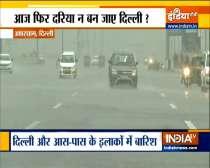 Heavy rain in Delhi-NCR, traffic jam in many areas