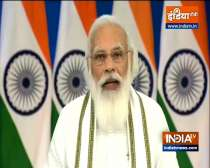 PM Modi addresses women related to self help groups