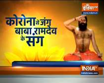 Swami Ramdev shares yoga tips to stay protected from third wave of Covid