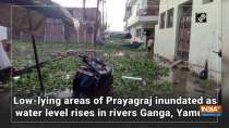 Low-lying areas of Prayagraj inundated as water level rises in rivers Ganga, Yamuna