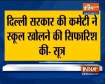 Breaking: Delhi schools may reopen soon