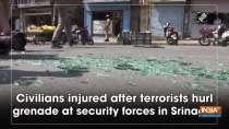 Civilians injured after terrorists hurl grenade at security forces in Srinagar