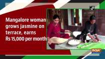 Mangalore woman grows jasmine on terrace, earns Rs 15,000 per month