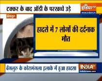 Seven killed in Audi car crash in Bengaluru