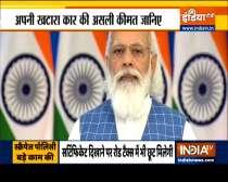 Vehicle scrappage policy will promote circular economy: PM Modi