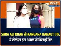 Sara Ali Khan turns head in ethnic wear outside the gym