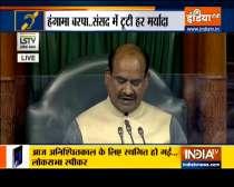 Special News | Pains me that Lok Sabha did not run smoothly, says Speaker Om Birla