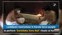 Lockdown restrictions in Kerala force people to perform