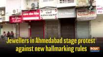 Jewellers in Ahmedabad stage protest against new hallmarking rules