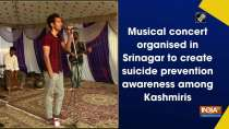 Musical concert organised in Srinagar to create suicide prevention awareness among Kashmiris