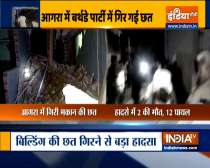 2 killed, 15 injured as building collapses in Agra during birthday party
