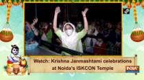 Watch: Krishna Janmashtami celebrations at Noida