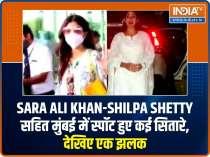Sara Ali Khan-Shilpa Shetty make a splash in the city