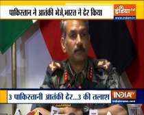 Army foils infiltration bid near LoC in J&K's Baramulla, 3 terrorists killed