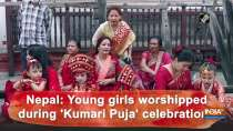 Nepal: Young girls worshipped during