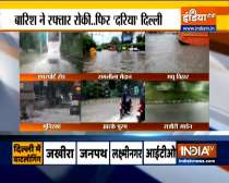Several parts of Delhi-NCR received heavy rainfall