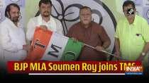 BJP MLA Soumen Roy joins TMC