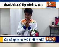 Breaking News | PM Modi congratulates Noida DM Suhas LY on historic silver