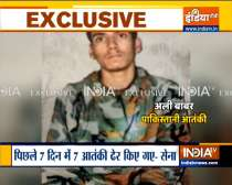 Indian Army captures 19-year-old Pak terrorist |  Watch Video