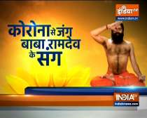 Know from Swami Ramdev, effective tips to stay active in office
