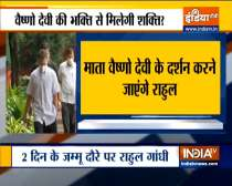 Ahead of polls in Jammu-Kashmir, Rahul Gandhi to visit Vaishno Devi Temple