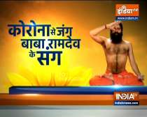 Know from Swami Ramdev Yogasanas, Pranayama and Ayurvedic remedies to control low bp