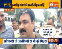 BJP MLA Krishna Midha stokes controversy with his remark, calls terrorists better than government officials