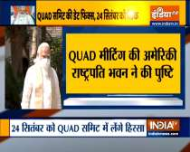 PM Modi to attend Quad Summit at White House on September 24