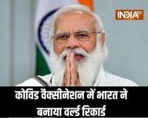 Over 2 crore Covid vaccine doses administered on PM Modi`s Birthday