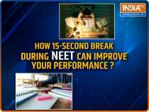 NEET 2021 Last Minute Tips: How 15-second break can improve your performance?