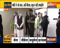 PM inaugurates new defence office complexes, slams critics of Central Vista project