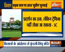 Farmers Protest: Hearing on Road jam in SC today