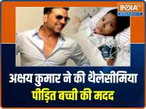 Akshay Kumar reaches out to 14 year old girl Janhvi who is suffering from Thalassemia