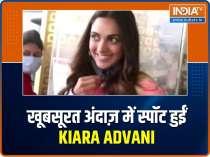 Actress Kiara Advani rocks tie and dye look at the airport
