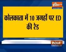 ED raids at 10 places in Kolkata on fake corona vaccination.