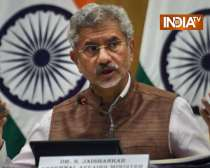 S Jaishankar speaks on Afghan issue, says - India ready to provide grains to Afghanistan