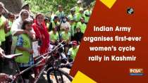 Indian Army organises first-ever women