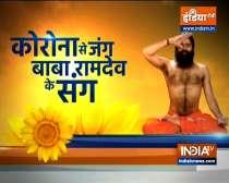 Swami Ramdev suggests yoga asanas, pranayama and other ayurvedic remedies to fight diseases