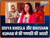 Divya Khosla and Bhushan Kumar perform Ganpati aarti; Bobby Deol papped at airport