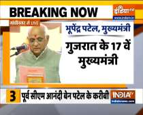 Bhupendra Patel takes oath as 17th Chief Minister of Gujarat