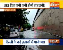 Rain lashes parts of Delhi, causes waterlogging in several areas