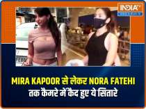 Celebs Out and About: Mira Kapoor, Nora Fatehi and others snapped in the city