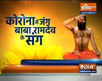 Swami Ramdev suggests yoga asanas and ayurvedic remedies to control thyroid-related problems