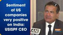 Sentiment of US companies very positive on India: USISPF CEO