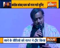 Shashi Tharoor sings Ek Ajnabi Haseena se... Seen yet?